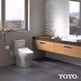 TOTO WASHLET S500E Bidet Toilet Seat with eWater+ & Lid, Elongated, Beige, SKU: SW3046#12