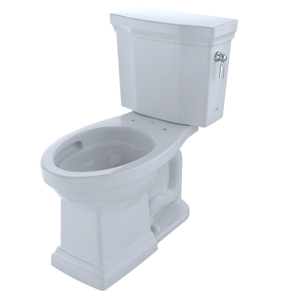 TOTO Promenade II 1G 2-Piece 1GPF Toilet and Right-Hand Trip Lever, Cotton White, SKU: CST404CUFRG#01