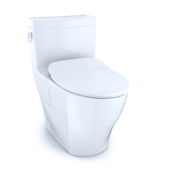 TOTO Legato One-Piece Elongated 1.28 GPF Toilet with CeFiONtect and SoftClose Seat