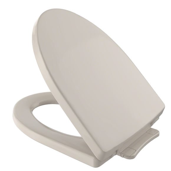 TOTO Soiree SoftClose Non Slamming, Slow Close Toilet Seat and Lid, Bone, SKU: SS214#03
