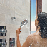 TOTO Modern Series Aero Handshower Three Spray Modes 2.5 GPM, Polished Chrome, SKU: TS111F53#CP