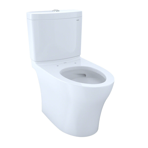 TOTO Aquia IV 2-Piece Elongated Dual Flush Skirted Toilet, Cotton White, SKU: CST446CEMG#01