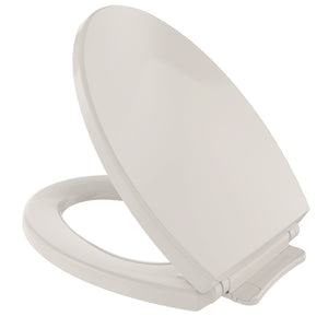 TOTO SoftClose Non Slamming, Slow Close Elongated Toilet Seat and Lid, Beige, SKU: SS114#12