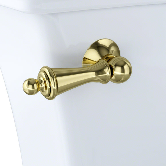 TOTO THU148#PB Trip Lever - Polished Brass for Clayton Toilet