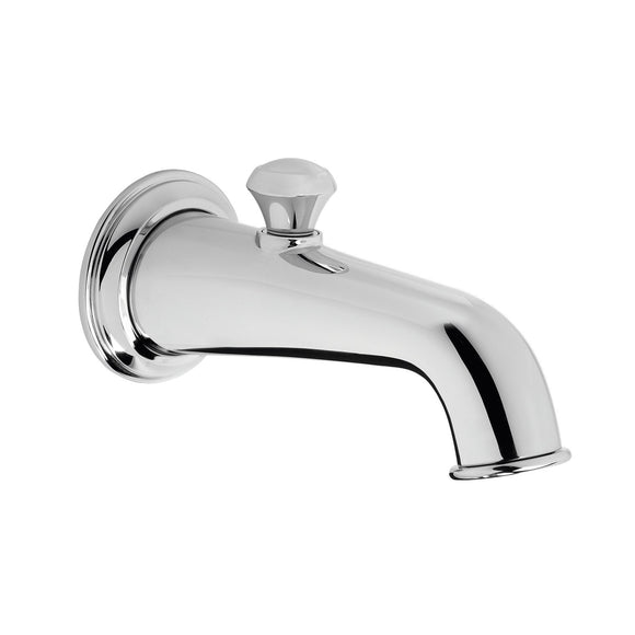 TOTO TS220EV#CP Vivian Wall Tub Spout with Diverter in Polished Chrome