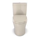 TOTO Aquia IV WASHLET+ 2-Piece Elongated Dual Flush 1.28 & 0.8 GPF Toilet, Bone, SKU: MS446124CEMG#03