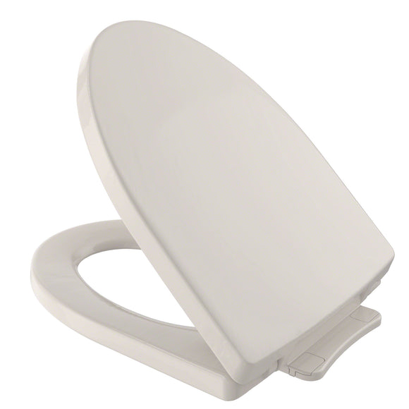 TOTO Soiree SoftClose Non Slamming, Slow Close Toilet Seat and Lid, Beige, SKU: SS214#12
