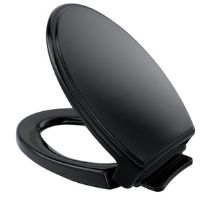 TOTO Traditional SoftClose Non Slamming, Slow Close Toilet Seat and Lid, Ebony, SKU: SS154#51