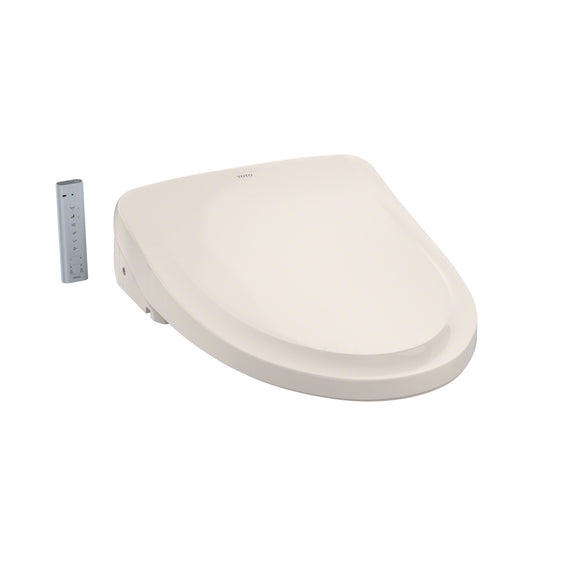 TOTO WASHLET S550E Bidet Toilet Seat with eWater+ and Auto Open/Close Lid, Beige, SKU: SW3054#12