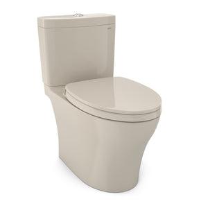 TOTO Aquia IV WASHLET+ 2-Piece Elongated Dual Flush 1.28 and 0.8 GPF Toilet, Bone, SKU: MS446124CEMG#03