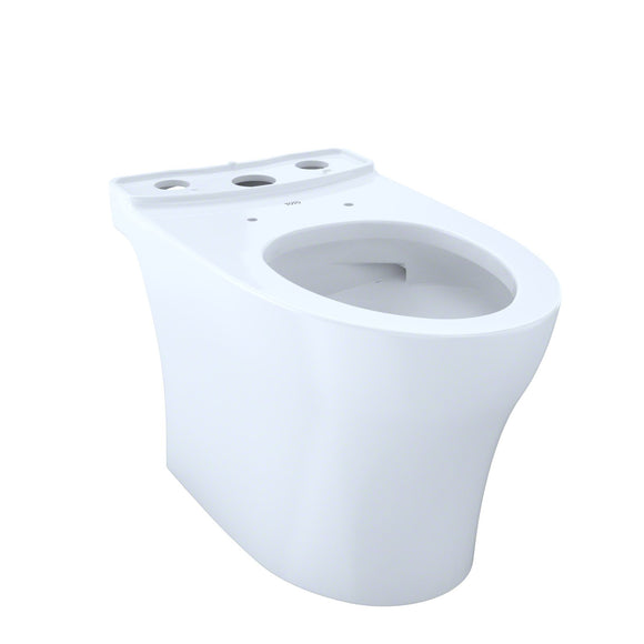 TOTO Aquia IV Elongated Skirted Toilet Bowl with CeFiONtect, Cotton White, SKU: CT446CUG#01