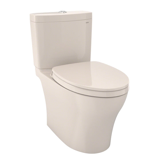 TOTO Aquia IV 1G WASHLET+ 2-Piece Elongated Dual Flush Toilet, Sedona Beige, SKU: MS446124CUMG#12