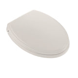 TOTO Traditional SoftClose Non Slamming, Slow Close Toilet Seat & Lid, Beige, SKU: SS154#12
