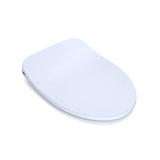 TOTO SoftClose Ultra Slim, Non-Slamming Toilet Seat and Lid, Cotton White, SKU: SS234#01
