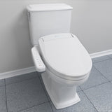 Brondell Swash SE400 Bidet Seat with Air Dryer and Nightlight, Elongated