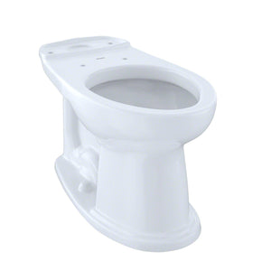 TOTO Dartmouth and Whitney Universal Height Elongated Toilet Bowl, Cotton White, SKU: C754EF#01