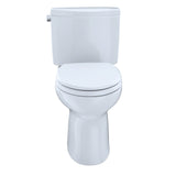 TOTO Drake II 2-Piece 1.28 GPF Toilet & Right-Hand Trip Lever, Cotton White, SKU: CST454CEFRG#01