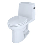 TOTO UltraMax One-Piece Elongated 1.6 GPF ADA Toilet, Cotton White, SKU: MS854114SLR#01