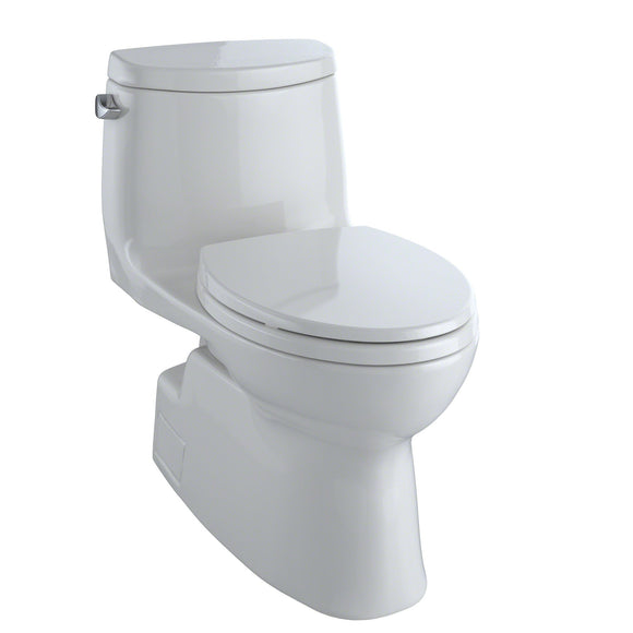 TOTO Carlyle II One-Piece Elongated 1.28 GPF Skirted Toilet, Colonial White, SKU: MS614114CEFG#11