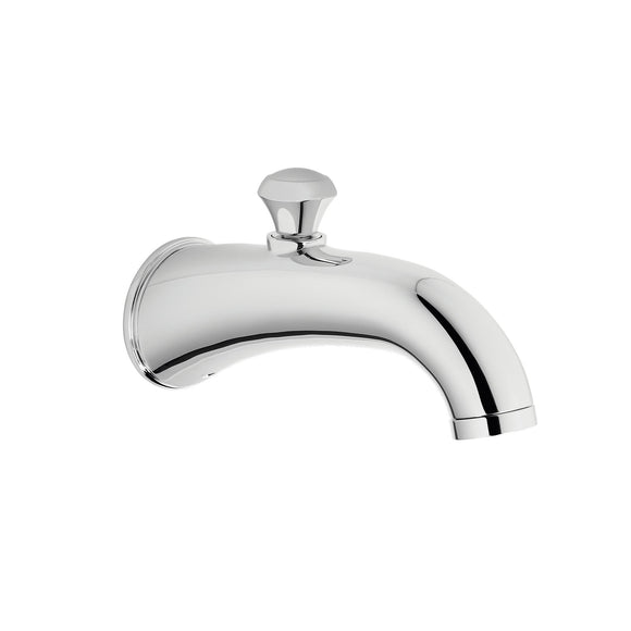 TOTO TS210EV#CP Silas Wall Tub Spout with Diverter in Polished Chrome