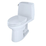 TOTO Eco UltraMax One-Piece Elongated 1.28 GPF ADA Toilet, Cotton White, SKU: MS854114ELG#01