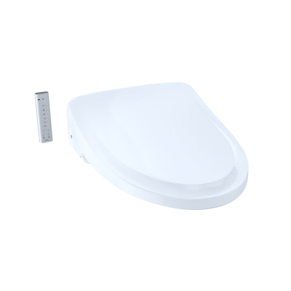 TOTO S500E WASHLET+ Ready Bidet Toilet Seat with eWater+ and Classic Lid, White, SKU: SW3044T40#01