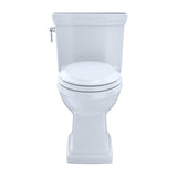 TOTO Promenade II 1-Piece 1.28 GPF Toilet & Right-Hand Trip Lever, Cotton White, SKU: MS814224CEFRG#01