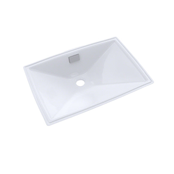 TOTO Lloyd Rectangular Undermount Bathroom Sink, Cotton White, SKU: LT931#01