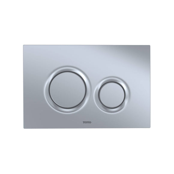 TOTO YT930#MS Dual Flush Round Push Button Plate