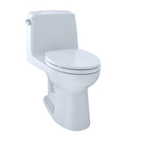 TOTO Eco UltraMax One-Piece Elongated 1.28 GPF ADA Toilet, Cotton White, SKU: MS854114ELR#01
