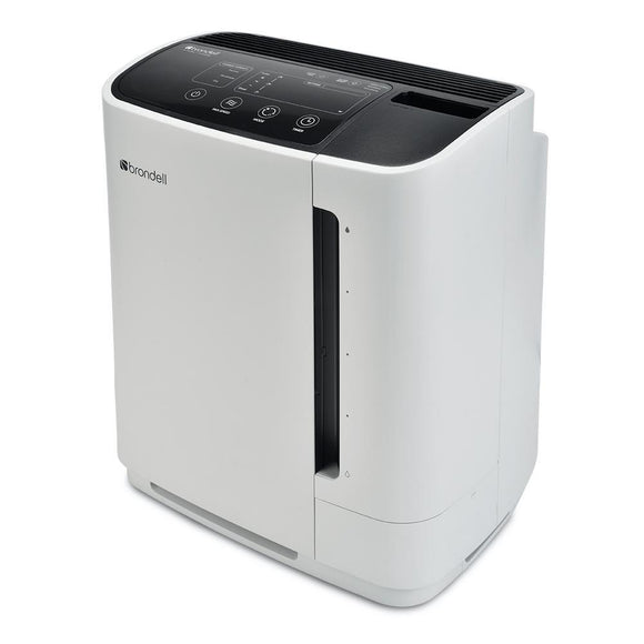 Brondell Revive PR50-W True HEPA Filtration Air Purifier and Humidifier, White