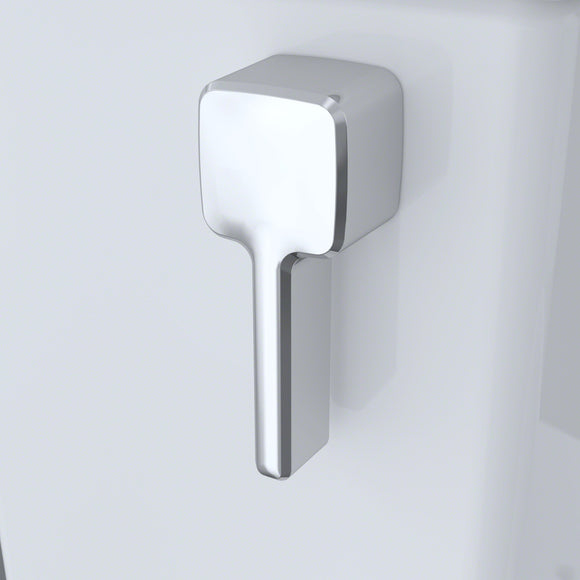 TOTO Trip Lever Handle (with Spud and Mounting Nut, Left Hand) - Polished Chrome, SKU: THU416#CP