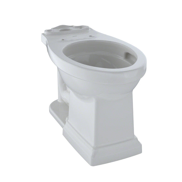 TOTO Promenade II Universal Height Toilet Bowl with CeFiONtect, Colonial White, SKU: C404CUFG#11