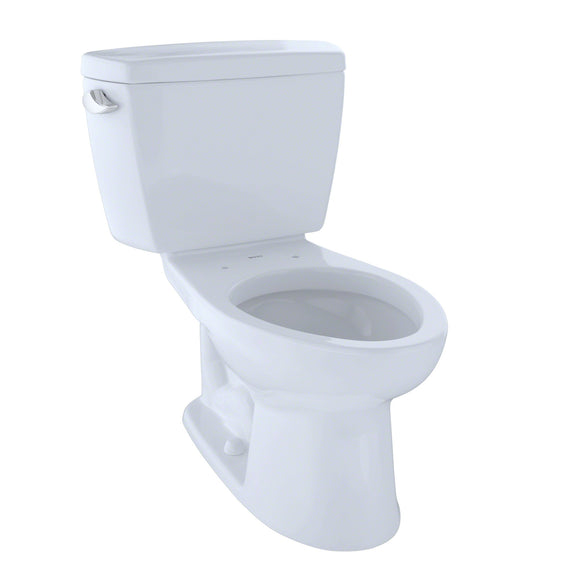 "TOTO Drake Two-Piece Elongated 1.6 GPF Toilet for 10"" Rough-In, Cotton White, SKU: CST744SF.10#01"