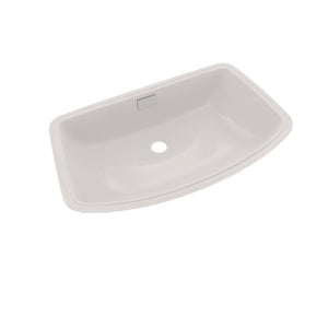TOTO Soiree Arched Front Rectangular Undermount Bathroom Sink, Colonial White, SKU: LT967#11