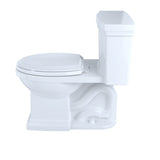 TOTO Promenade II 1G 1-Piece 1GPF Toilet & Right-Hand Trip Lever, Cotton White, SKU: MS814224CUFRG#01