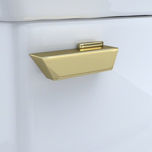 TOTO THU225#PB Trip Lever - Polished Brass for Soiree Toilet Tank