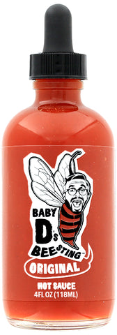Original Hot Sauce Baby D's Bee Sting