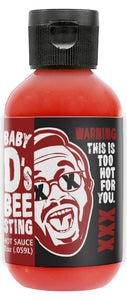 XXX Death Sauce Hot Sauce Baby D's Bee Sting - 2 oz.
