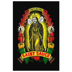 Saint Sauce Canvas Art