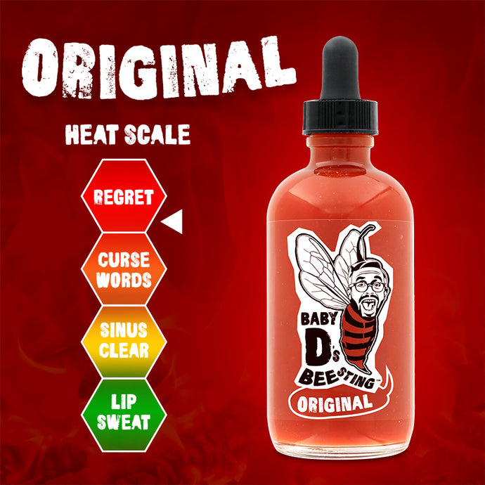 Original Hot Sauce Baby D's Bee Sting - 4 oz.