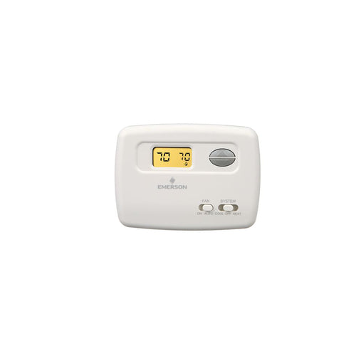 1F78-144 | TERMOSTATO EMERSON DIGITAL A/C 1 ETAPA NO PROGRAMABLE 24 VOLTS