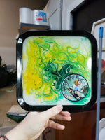 Load image into Gallery viewer, Nerdy Fairies Resin Tray