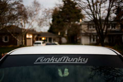 FunkyMunky windshield banner