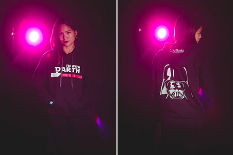 Unisex I'm with DARTH hoodie