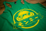 Ladies Green FM tank