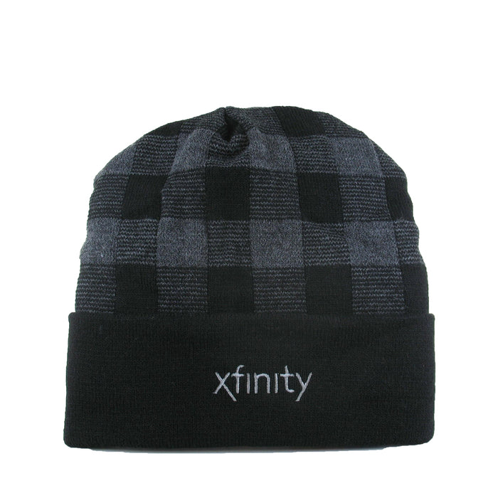 Xfinity Plaid Knit Hat