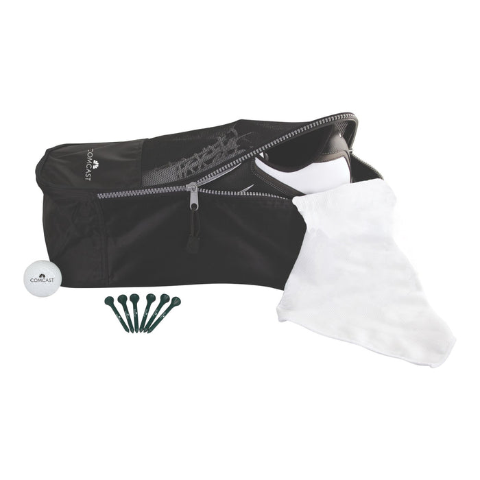 Shoe Tote Golf Kit with Warbird 2 Golf Ball