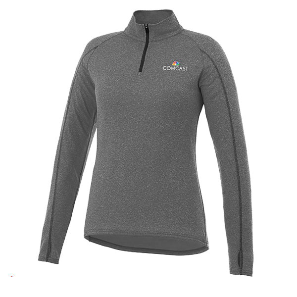 Ladies Taza Knit Quarter Zip