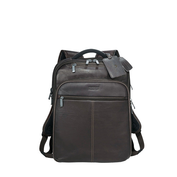 Kenneth Cole Leather Computer Back Pack